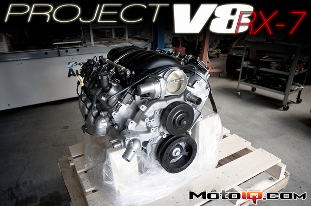 Chevy LS3 E-ROD crate engine