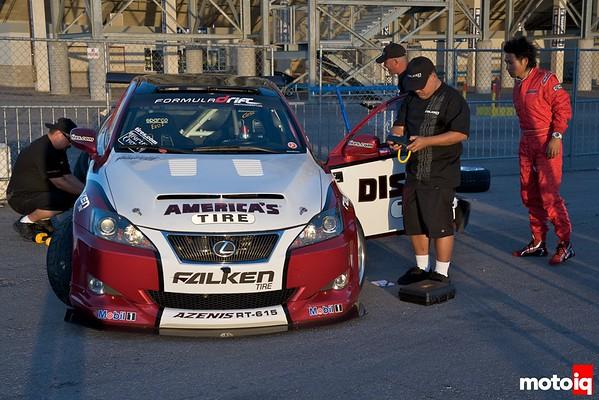Falken tire lexus drift car