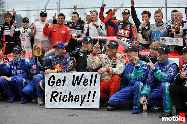 Get well Richey Watanabe from Formula D