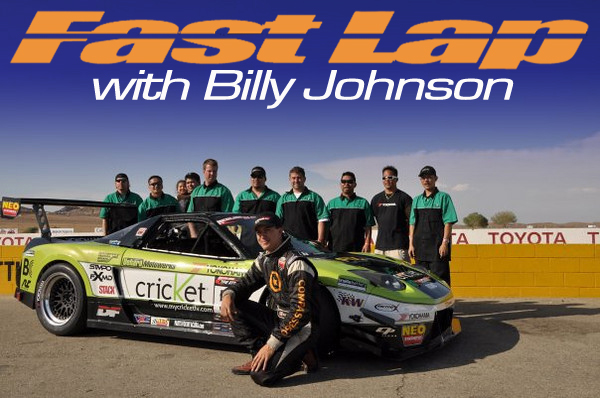 Fastlap with Billy Johnson - Willow Springs
