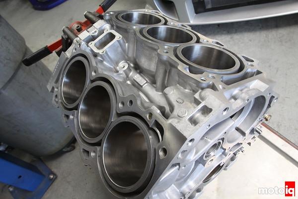 VQ35DE Turbo block