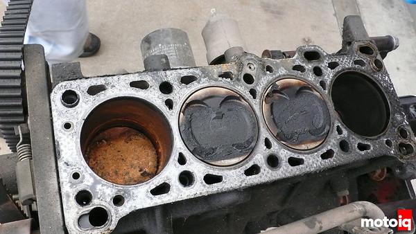 Frankenmiata dead miata engine number three