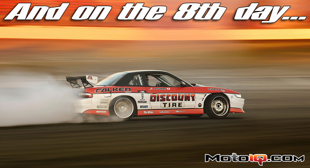 Dai Yoshihara Team Falken Nissan S13 240SX V8 powered S13