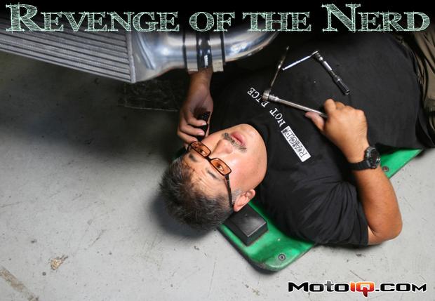 Revenge of the nerd, Mike Kojima
