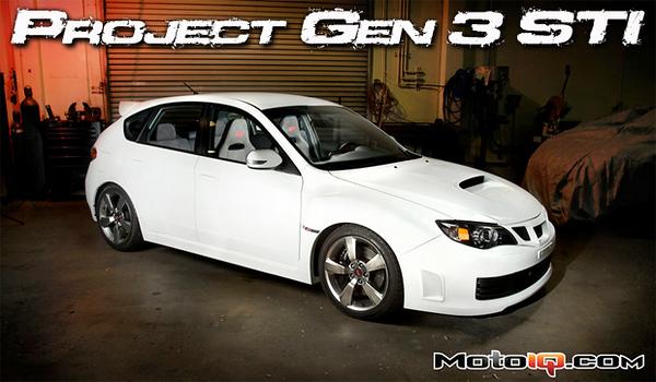 Gen 3 Subaru STI
