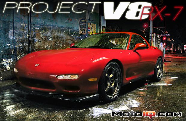 MotoIQ Project V8 RX-7