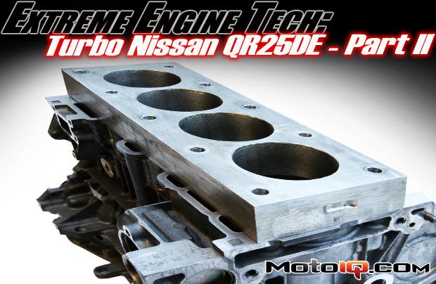 Nissan QR25DE Torque Plate